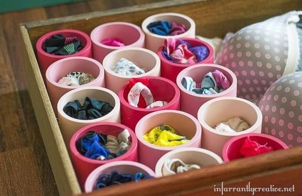 22 maneras creativas para almacenar tus objetos