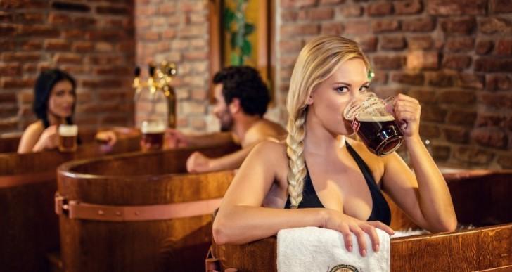 Si eres amante de la cerveza seguro vas a adorar este spa