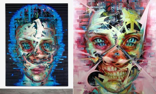 Retratos pintados que parecen digitales pero no lo son en absoluto
