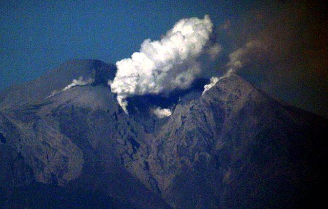 Recuperan imágenes de los últimos momentos de excursionistas tras erupción volcánica