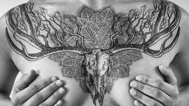Los tatuajes estilizados de Matt Matik