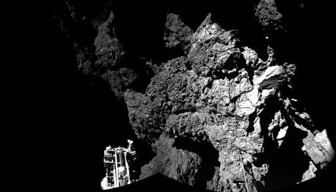 Por primera vez en la historia el ser humano aterrizó un objeto sobre un cometa