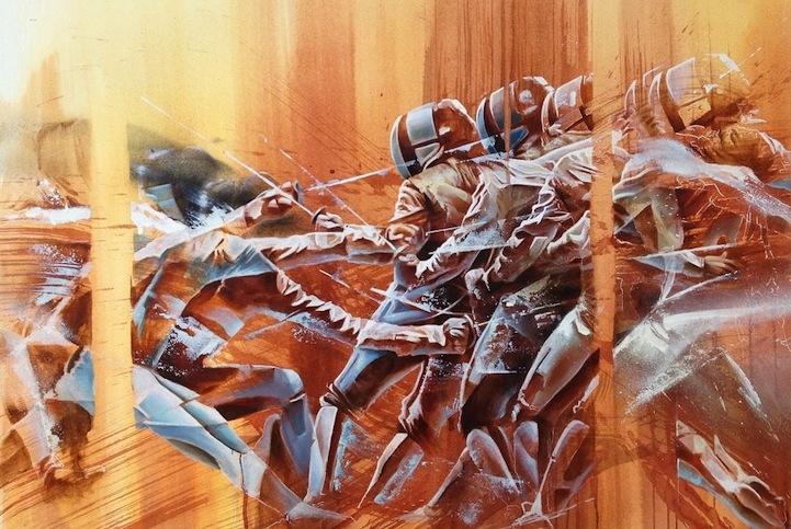 Resultado de imagen para esgrima pinturas