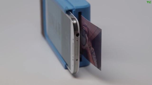 Este estuche puede convertir tu celular en una cámara instantánea