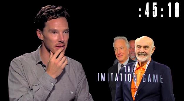 Benedict Cumberbatch imita perfectamente a varios otros actores