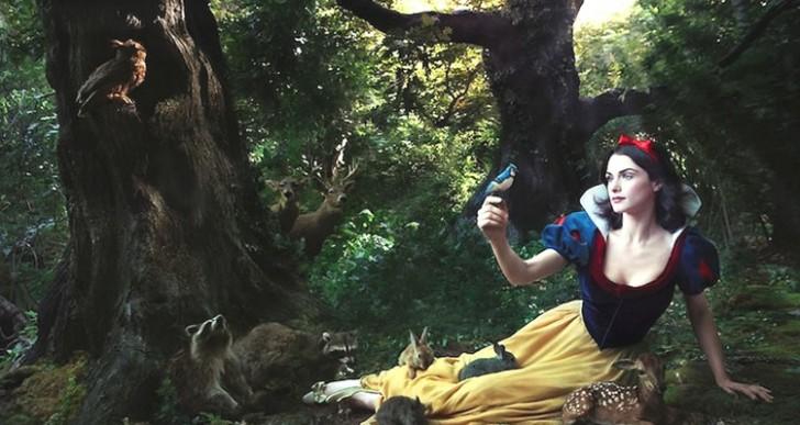 Celebridades se convierten en personajes de Disney gracias a Annie Leibovitz