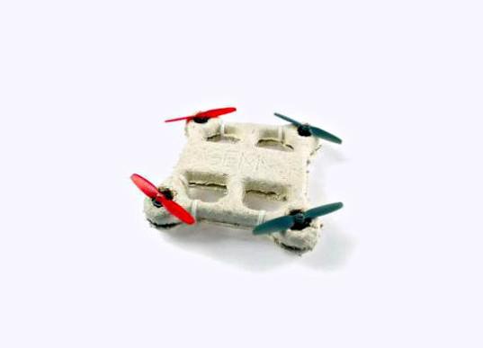 Un dron biodegradable para no contaminar si se te pierde