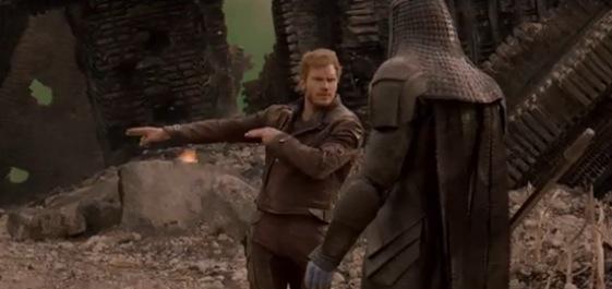 No te puedes perder esta escena borrada de Guardians of the Galaxy