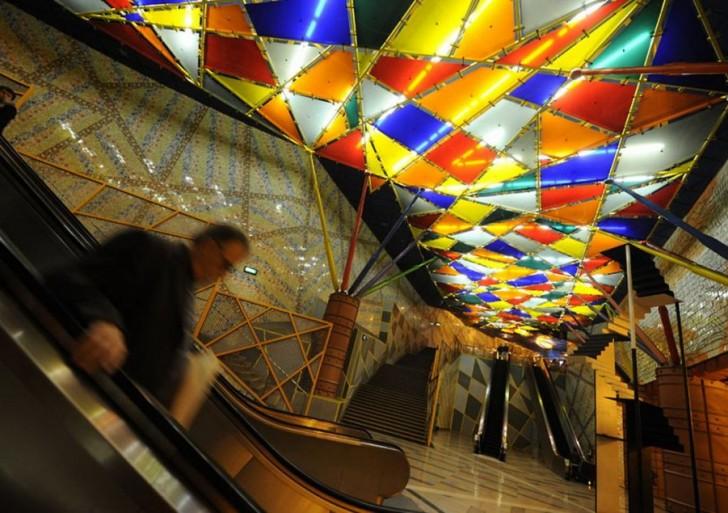 Conoce las estaciones de metro más hermosas del mundo