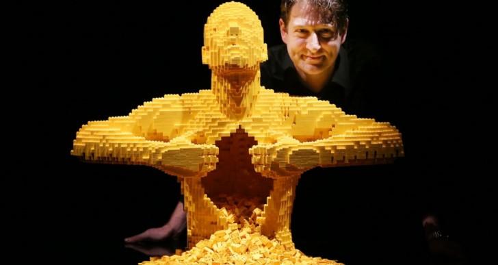 Esta exhibición de esculturas hechas con piezas de LEGO te dejará impactado