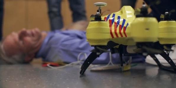 Pronto habrán drones de ambulancia