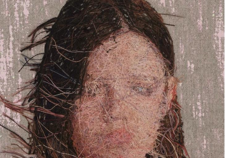 Exquisitos retratos bordado por Cayce Zavaglia