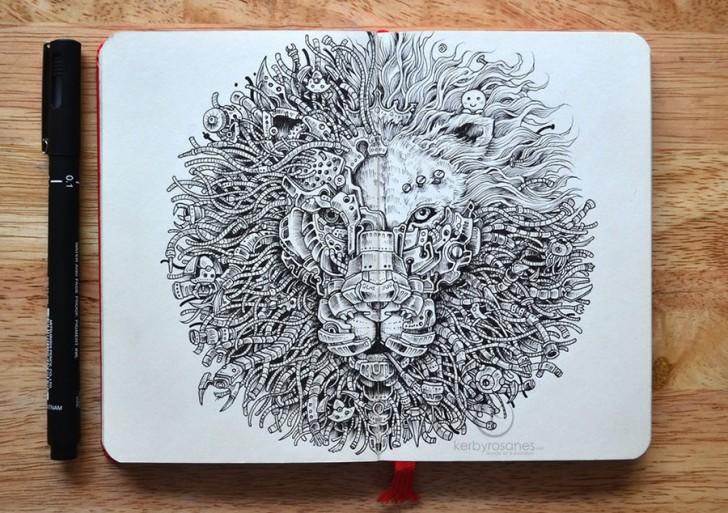 Increíbles ilustraciones hechas en libretas