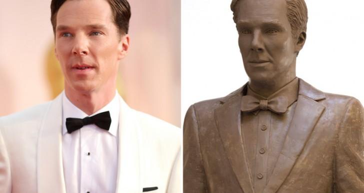 Alguien decidió hacer una figura de chocolate idéntico a Benedict Cumberbatch