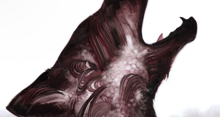Las pinceladas sencillas que forman animales de Adam S. Doyle
