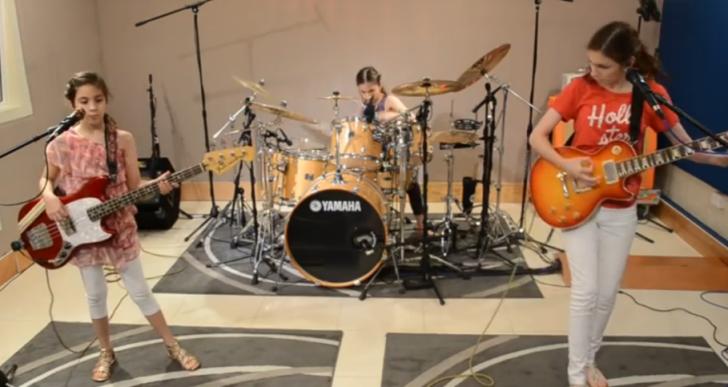 El cover de Enter Sandman que tocan estas chicas es fenomenal