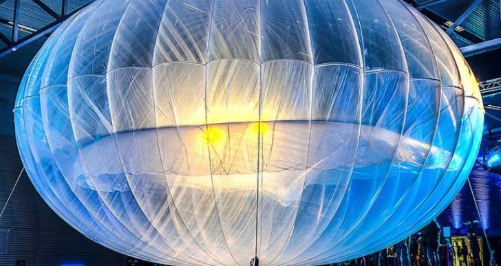 Cómo funcionarán los globos que le darán internet al mundo