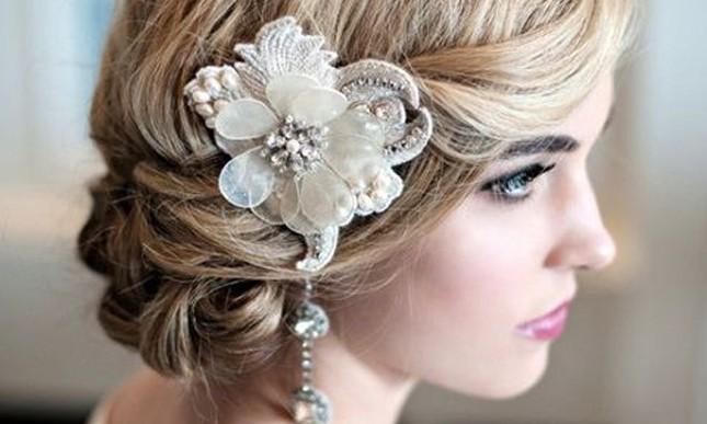 Si tu pelo es corto, prueba alguno de estos looks para tu boda