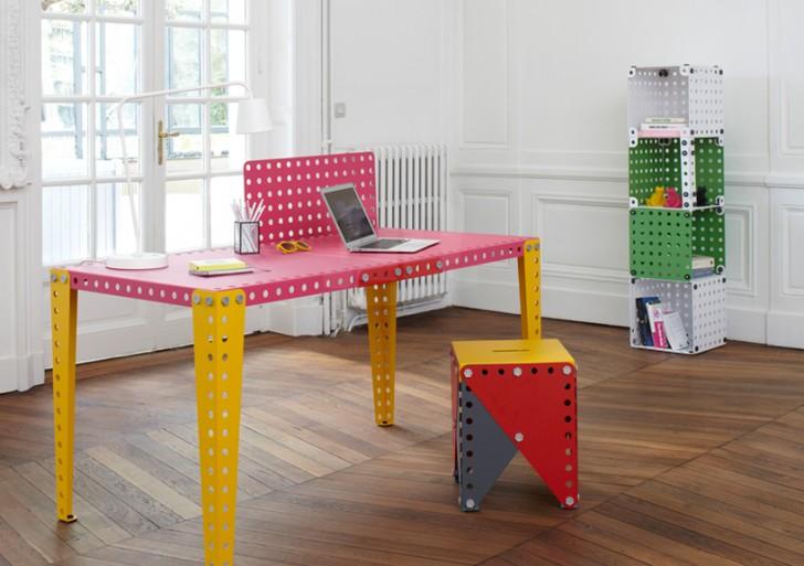Meccano Home te permite diseñar y construir los muebles de tu casa