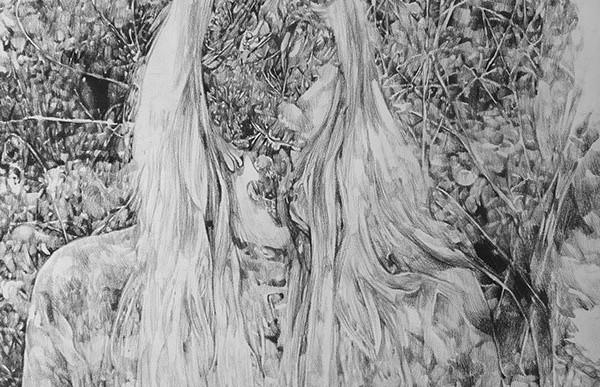 Obras que expresan la sensación de perderte en el bosque de Anouk Griffioen