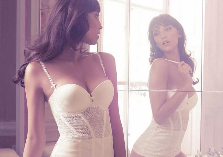 Sensuales fotos que desatan fantasías de una mujer