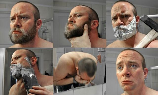 21 hombres que probaron el poder renovador de unas tijeras