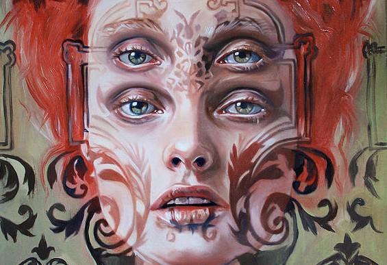 Increíbles retratos surreales por Alex Garant