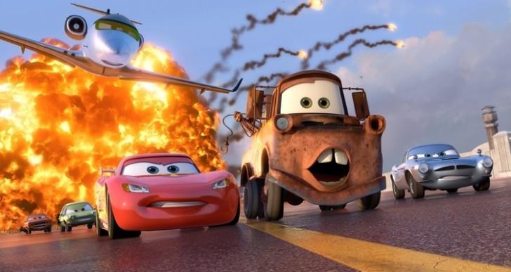 Esto pasa cuando mezclas Rápidos y Furiosos con Pixar