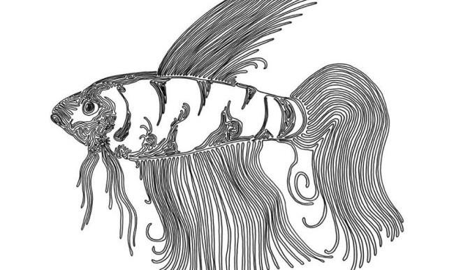 8 impresionantes ilustraciones dibujadas con una sola línea