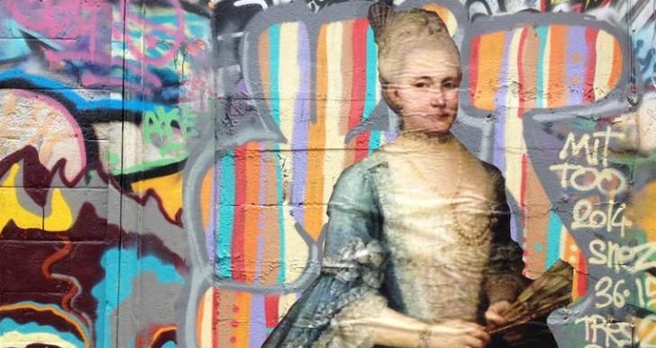 Outings Project: Cuando la pintura clásica se encuentra con el arte callejero
