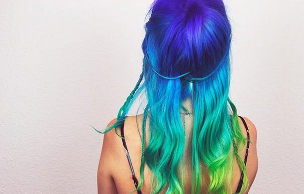 Tips e imágenes con los que te animarás sí o sí a teñirte el cabello de arcoiris