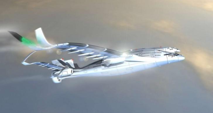 Este avión gigante de tres pisos podría volar en algún futuro