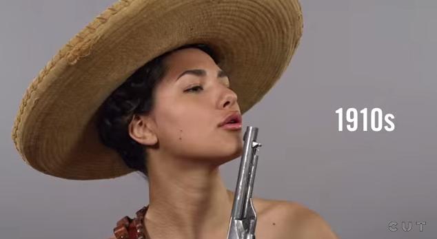 100 años de belleza mexicana en menos de un minuto