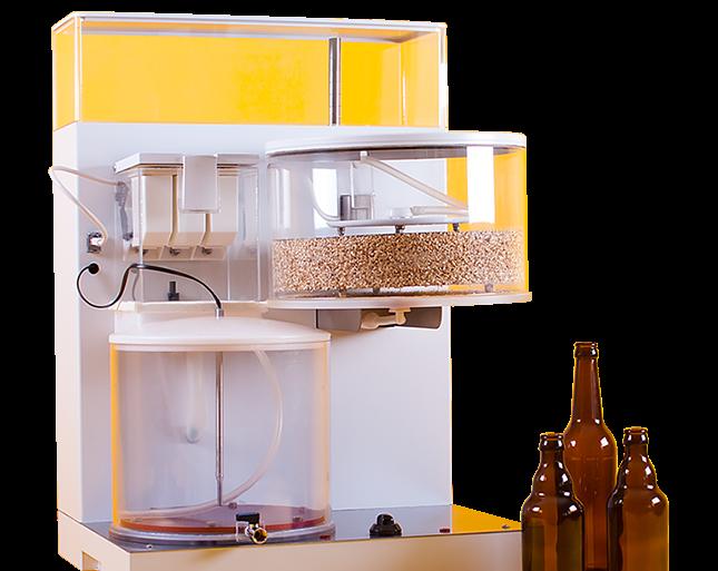 Con esta máquina podrás hacer tus propias cervezas en casa