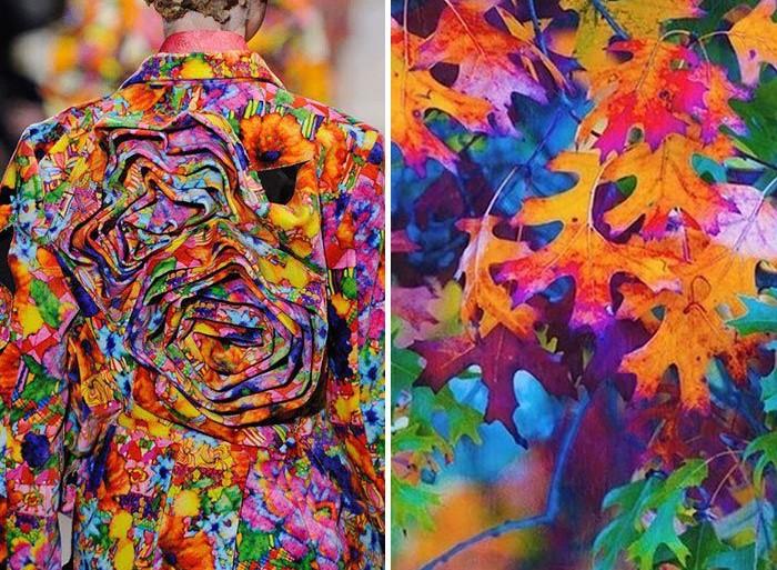 24 hermosos vestidos inspirados en la naturaleza