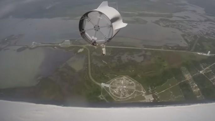 Esto es lo que ve un astronauta cuando se aborta el lanzamiento de un cohete