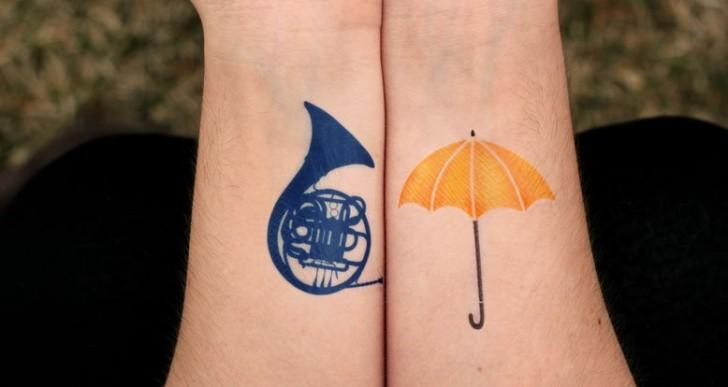 16 originales tatuajes inspirados en series de televisión