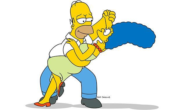 Homero y Marge Simpson se van a separar legalmente