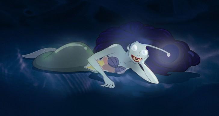 Cómo sería la Sirenita si hubiera evolucionado en otro mar