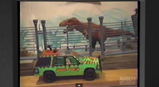 Esta reinterpretación de Jurassic Park fue hecho por niños y sus juguetes