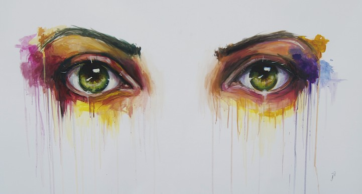 Estas pinturas demuestran que los ojos son la ventana al alma