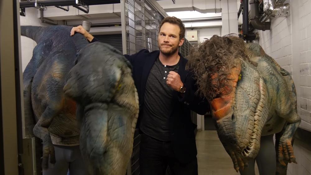 A Chris Pratt Le Asustan Los Dinosaurios En La Vida Real Caracteres Compra tus entradas para caminando entre dinosaurios en el corte inglés y disfruta de un diseñadores de todo el mundo han trabajado con científicos para crear 18 criaturas a tamaño real caminando entre dinosaurios es un espectáculo único en el mundo, para toda la familia y que este. chris pratt le asustan los dinosaurios