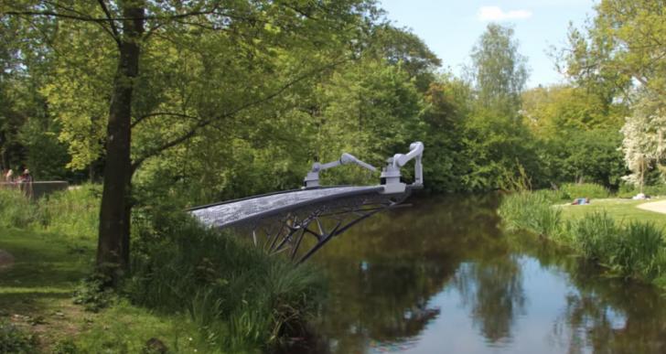 Algún día estos ingenieros podrán imprimir puentes en lugar de construirlos