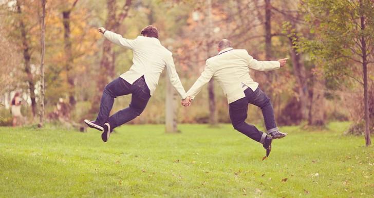 28 hermosas fotos de bodas gay que demuestran que el amor no tiene límites