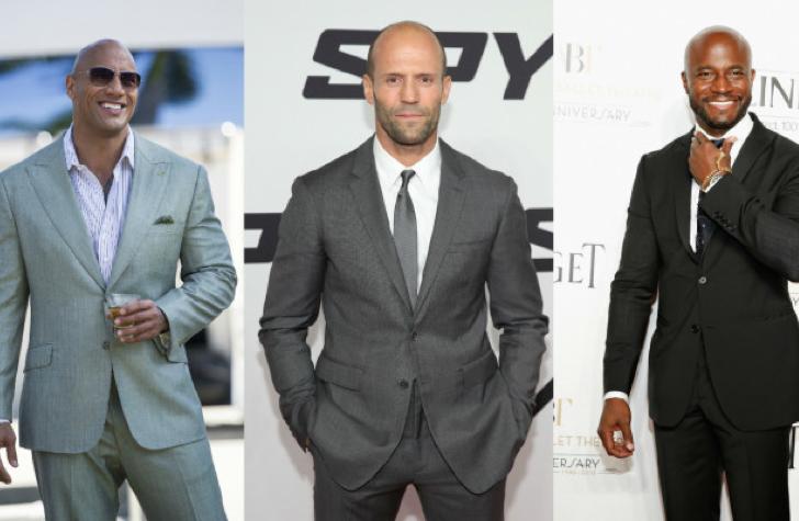Aquí hay 9 de los pelones más sexys de Hollywood