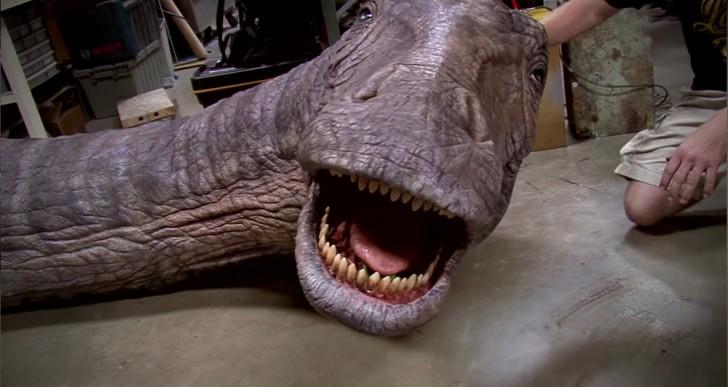 Mira lo complicado que es crear a los dinosaurios de Jurassic World