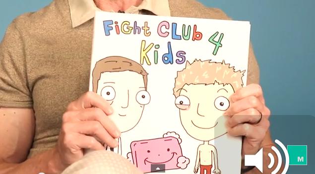 Mira a Chuck Palahniuk leer su versión de Fight Club para niños