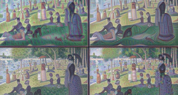 Increíbles ilustraciones hechas por la inteligencia artificial de Google