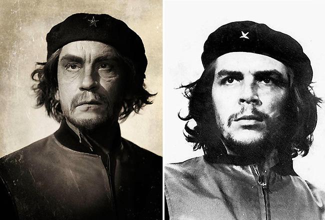 15 Retratos famosos recreados minuciosamente por John Malkovich