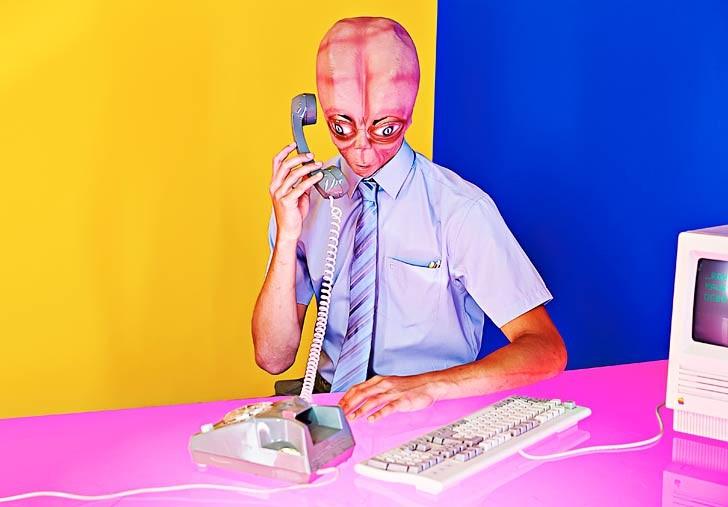La ordinaria vida de Robert el extraterrestre